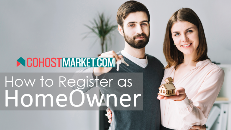 Creating a Homeowner Account on CoHostMarket Step by Step