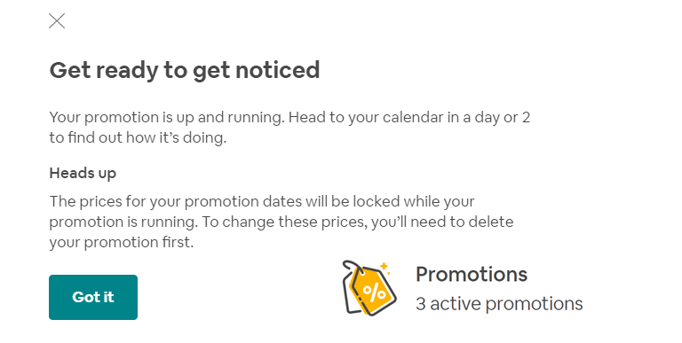 New Airbnb promotion tools